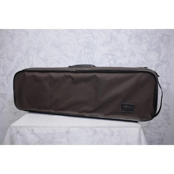 Gewa Strato Deluxe Violin Case in Brown/Green