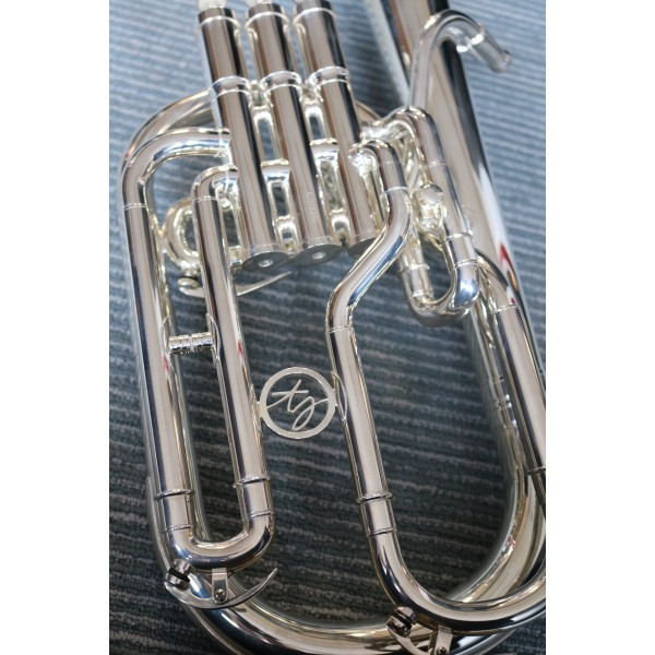Renaissance by Trevor James 5500 Tenor Horn with Silver Plating