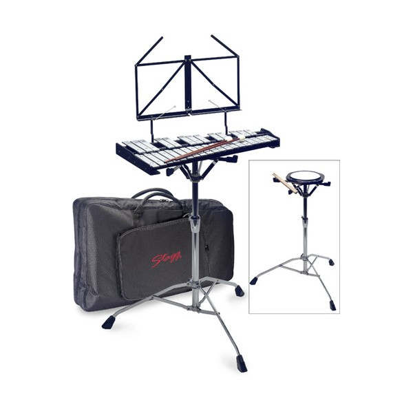 Stagg Metallophone Practice Pad and Stand