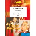 Glazunov, Alexander - Albumblatt