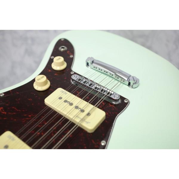 Revelation RJT-60/12 12 String Electric Guitar Seafoam Green