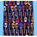 Guitars Silk Tie
