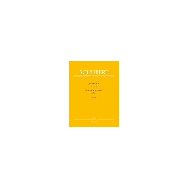 Schubert, Franz - Piano Sonata in A major D959