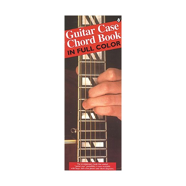 Guitar Case Chord Book In Full Colour