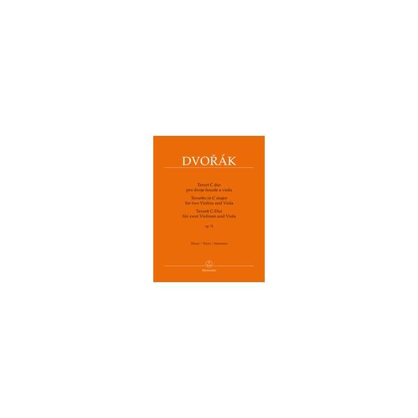 Dvorak, Antonin - Terzetto in C major, Op74