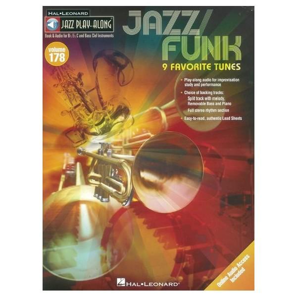 Jazz Play-Along Volume 178: Jazz/Funk - 9 Favorite Tunes (Book/Online Audio)