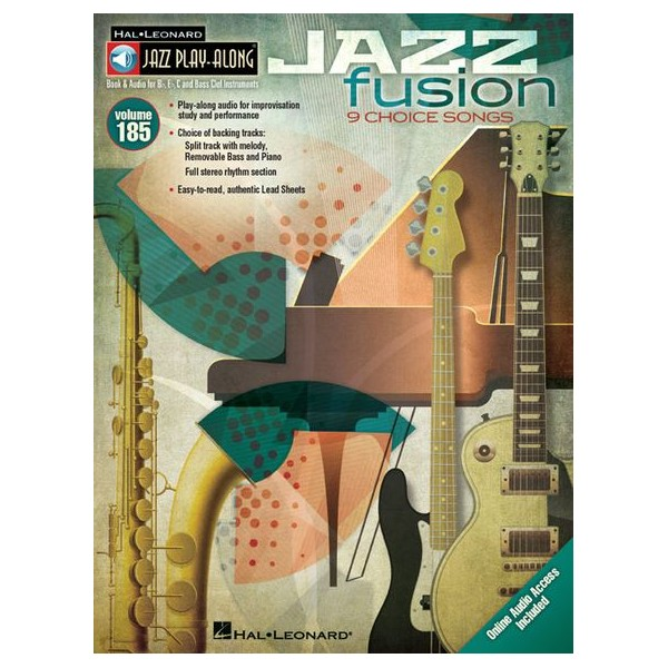 Jazz Play-Along Volume 185: Jazz Fusion (Book/Online Audio)