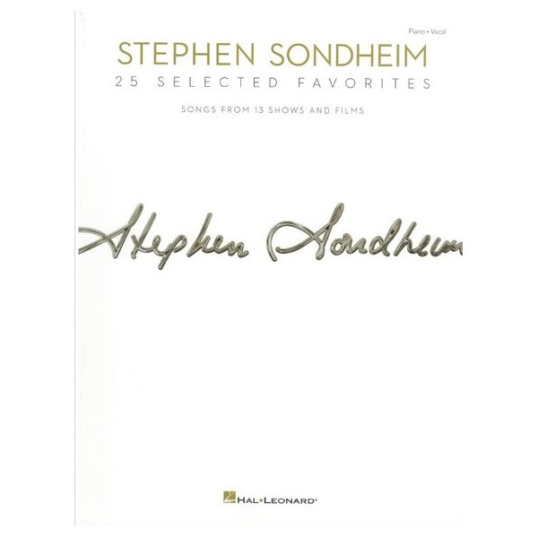 Stephen Sondheim: 25 Selected Favorites