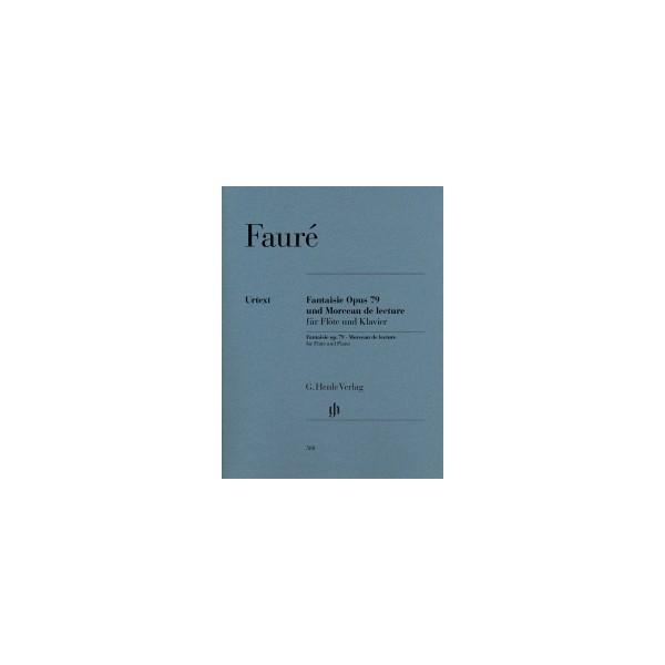 Faure, Gabriel - Fantasie (op79) & Morceau de lecture (Flute)