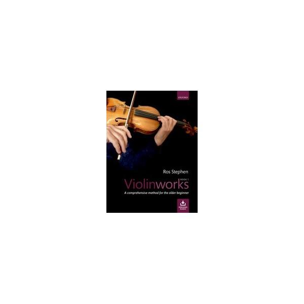 Stephen, Ros - Violinworks, Book One (Bk & CD)