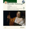 Renaissance Recorder Anthology, Book Two