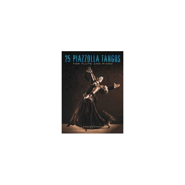 Piazzolla, Astor - 25 Tangos for Flute