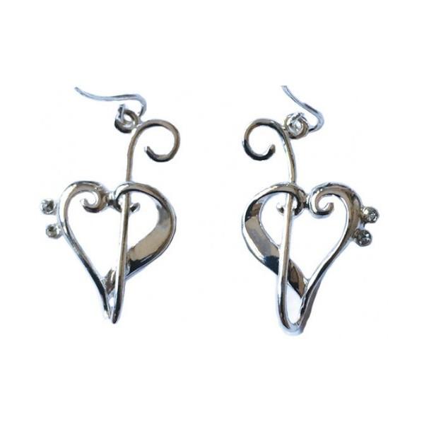 Heart of Clefs Earrings