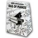 Belgian Milk Chocolate Bag Of Pianos