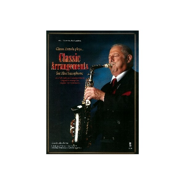 Classic Arrangements for Alto Saxophone - Music Minus One Play-a-long Edition