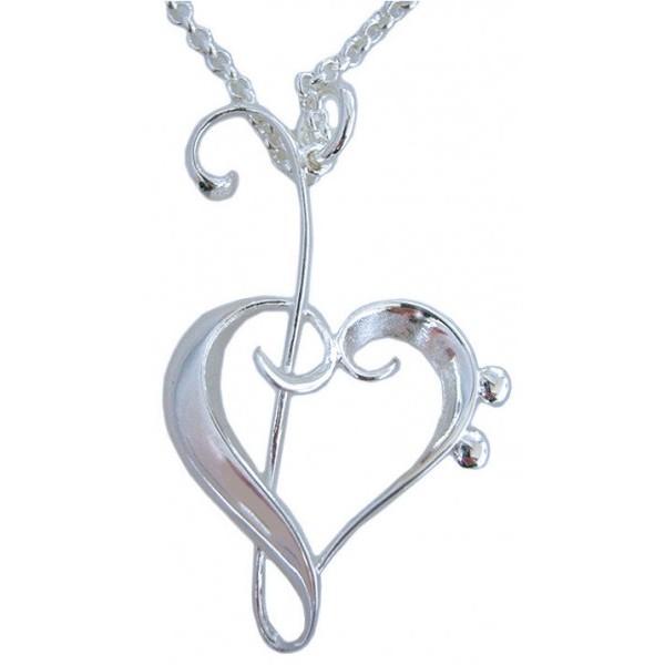 Heart of Clefs Pendant
