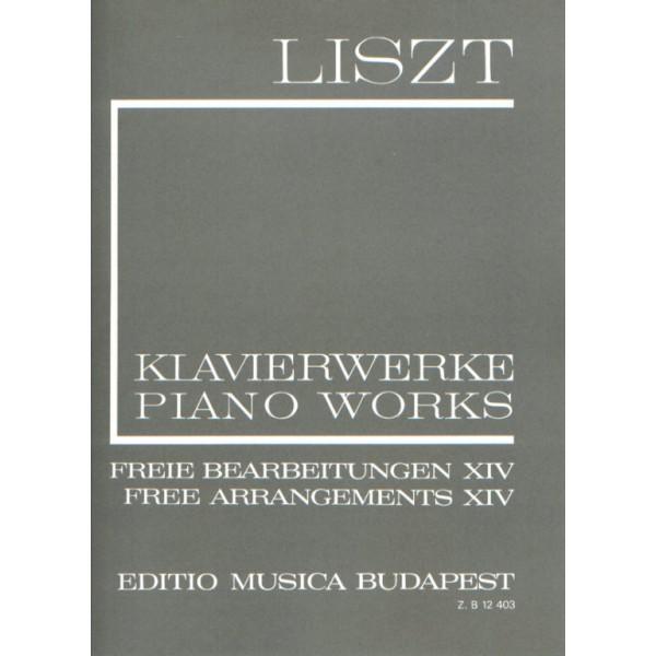 Liszt, Franz - Free Arrangements XIV (New Liszt Edition II/14)