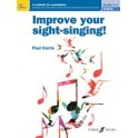 Harris, Paul - Improve Your Sight-Singing Grades 1-3 (NEW)