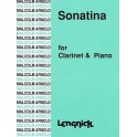 Arnold, Malcolm - Clarinet Sonatina, Op29