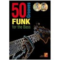 Cooper, Bernie: 50 Funk Grooves for the Bass