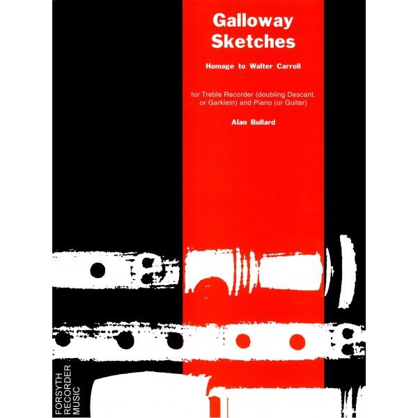 Galloway Sketches - guitar part - Bullard, Alan