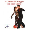 Piazzolla, Astor - Twelve Tangos for Easy Piano