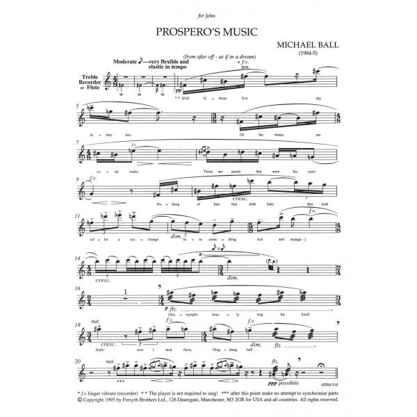 Prospero's Music - Ball, Michael