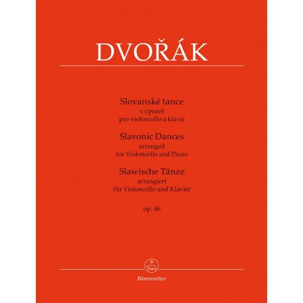 Dvorak, Antonin - Slavonic Dances, Op46 (Vc)