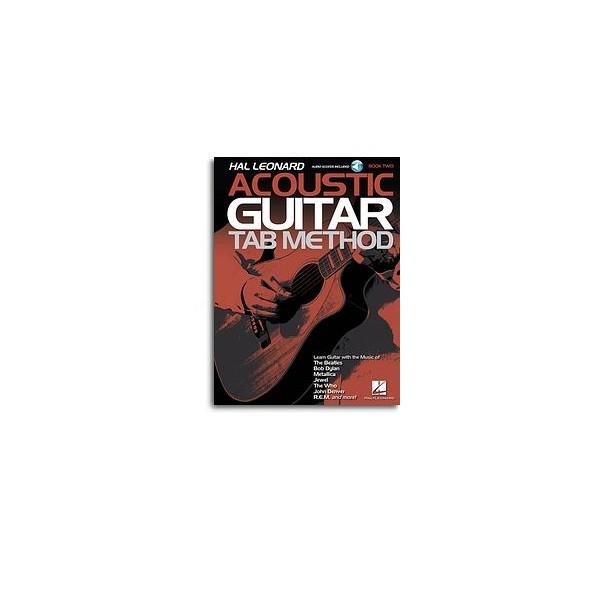 Hal Leonard Acoustic Guitar Tab Method - Book Two