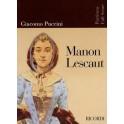 Puccini, Giacomo - Manon Lescaut (full score)