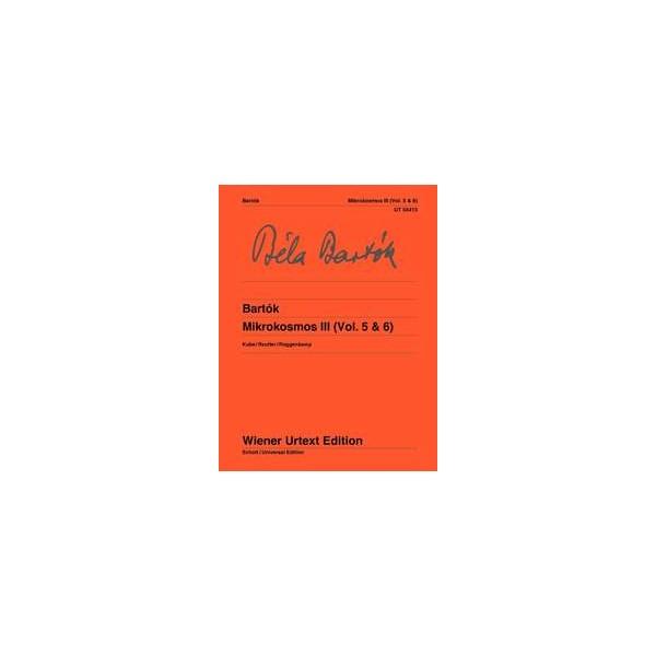 Bartok, Bela - Mikrokosmos, Band Three (V & VI)