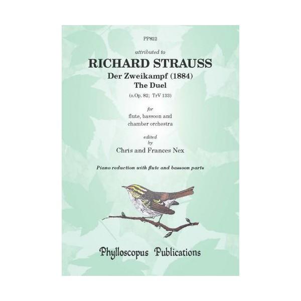 Strauss, Richard - Der Zweikampf [The Duel] (Flute, Bassoon & Piano)