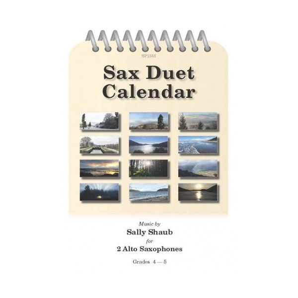 Shaub, Sally - Sax Duet Calendar