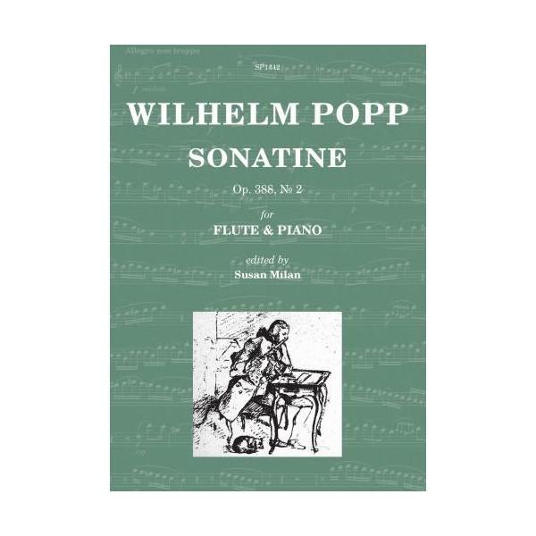 Popp, Wilhelm - Sonatine Op. 388 No. 2 (Flute & Piano)