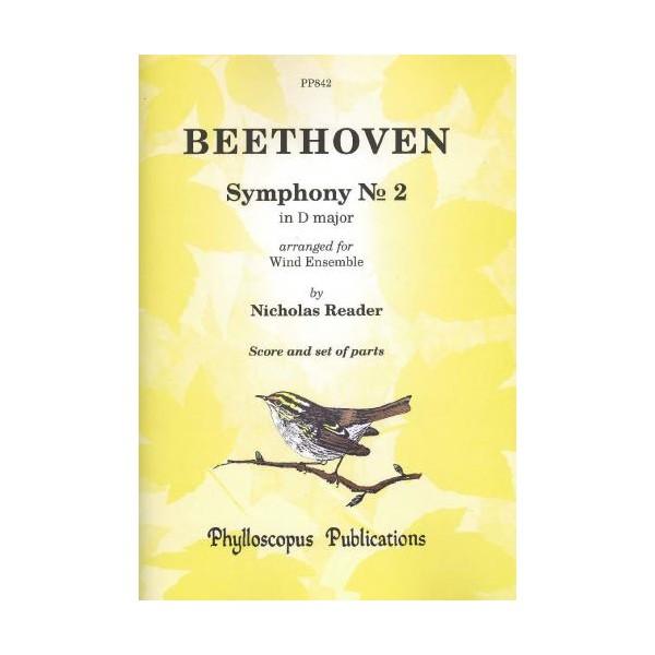 Beethoven - Symphony No. 2 (Wind Ensemble)