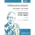 Castelnuovo-Tedesco - Two Sonatas Op. 179 (Trumpet & Piano)