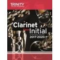 TCL Clarinet Exam Pieces, Initial (2017-2020)