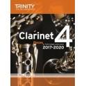TCL Clarinet Exam Pieces Grade Four (2017-20)