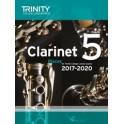 TCL Clarinet Exam Pieces Grade Five (2017-20)