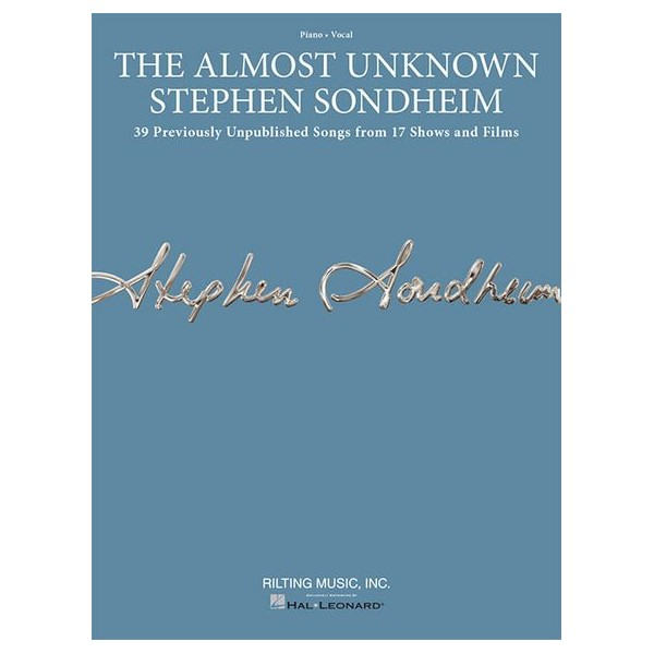Sondheim, Stephen - The Almost Unknown Sondheim