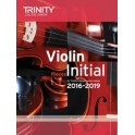 TCL Violin Exam Pieces, Initial Grade 2016-19