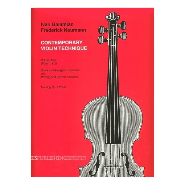 Galamian, Ivan - Contemporary Violin Technique, Vol. 1