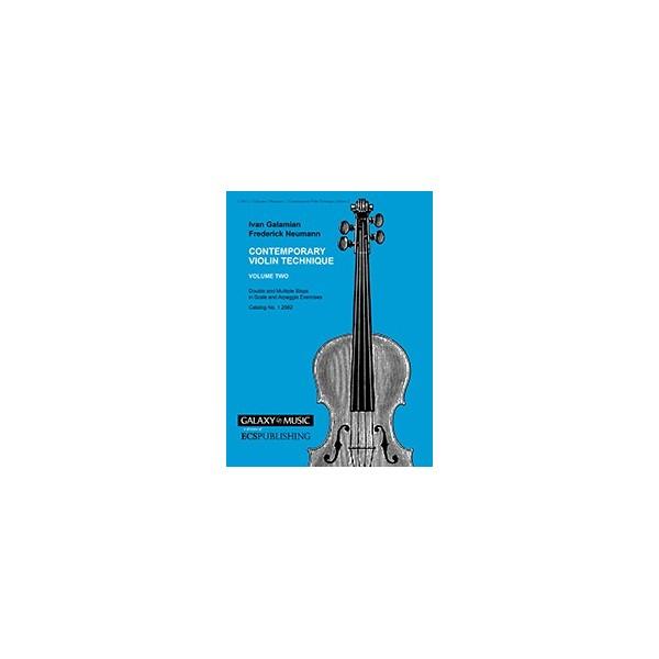 Galamian, Ivan - Contemporary Violin Technique, Vol. 2