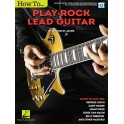Brooke St. James: How To Play Rock Lead Guitar (Book/Online Video) - St. James, Brooke (Author)