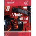 TCL Violin Exam Pieces, Initial Grade (2016-19)