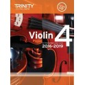 TCL Violin Exam Pieces, Grade Four (2016-19)