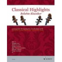 Classical Highlights for String Quartet