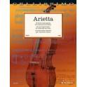 Arietta: 40 Easy Original Pieces (Vc)