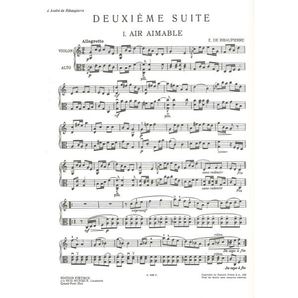 Ribaupierre, Emile de - Suite Montagnarde 1