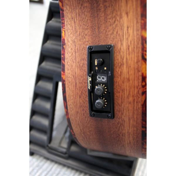 Kala UBASS-SMHG all solid mahogany fretted electro-acoustic bass ukulele